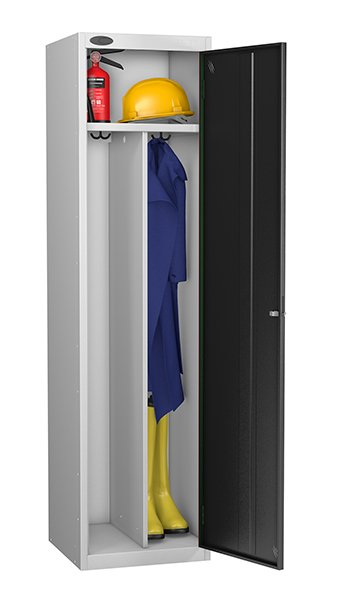 Probe black locker for clean and dirty environment