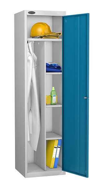 Probe blue uniform locker