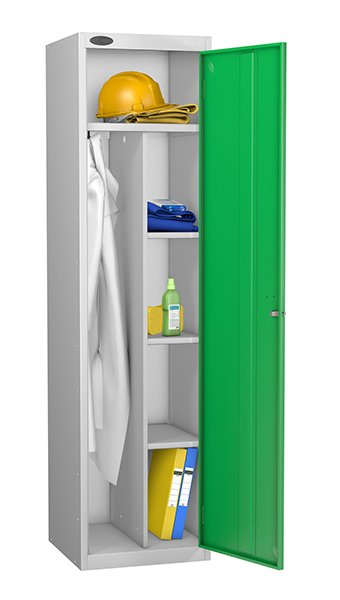 Probe green uniform locker