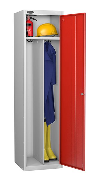 Probe red locker for clean and dirty environment