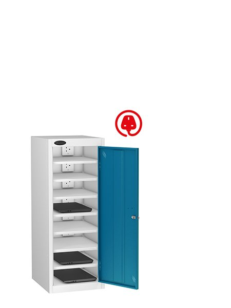 Probe 1 door blue lapbox charging locker