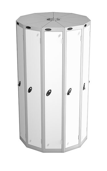 Probe 1 door with 11 seed white podbox pod locker