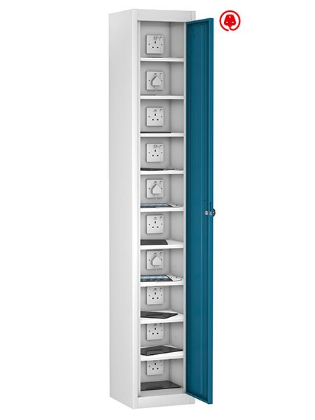 Probe 10 doors blue tabbox charging locker