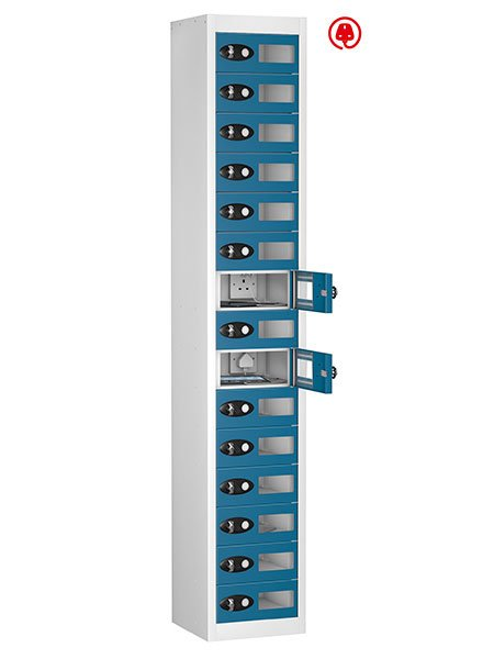 Probe 10 doors blue window tabbox charging locker