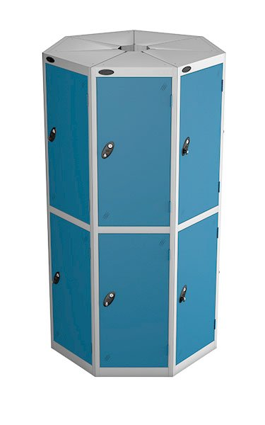 Probe 2 door with 7 seed blue podbox pod locker