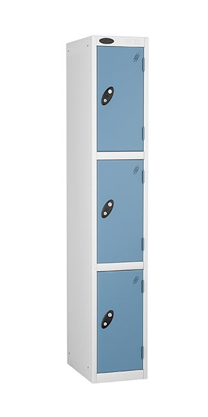 Probe 3 doors steel locker ocean
