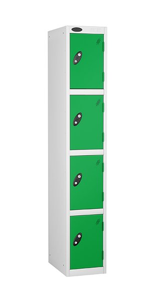 Probe 4 doors steel locker green