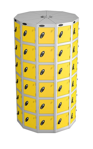 Probe 6 doors with 11 seed yellow podbox pod locker