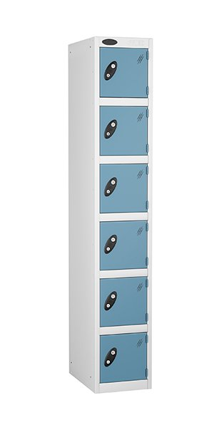 Probe 6 doors steel locker ocean