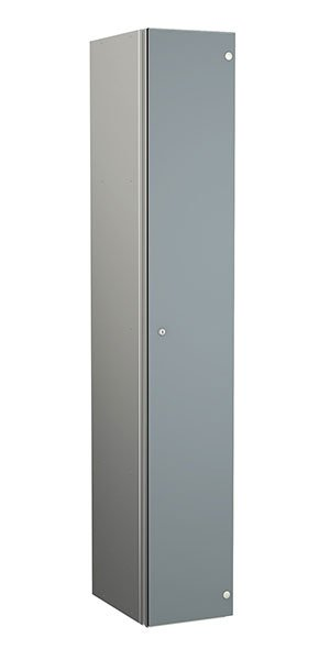 Probe aluminum locker 1 door dark dust