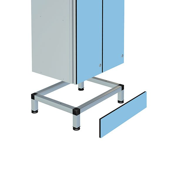 Probe stand for double aluminum locker