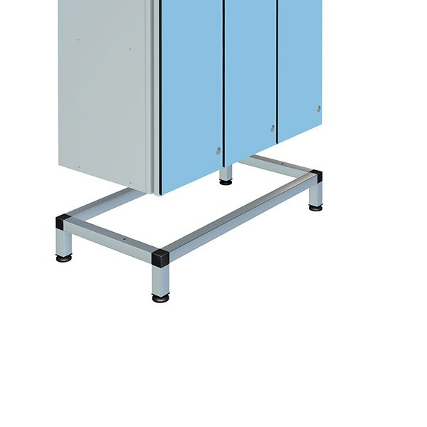 Probe stand for triple aluminum locker