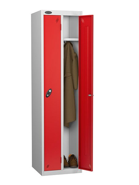 Probe twin locker red for one person
