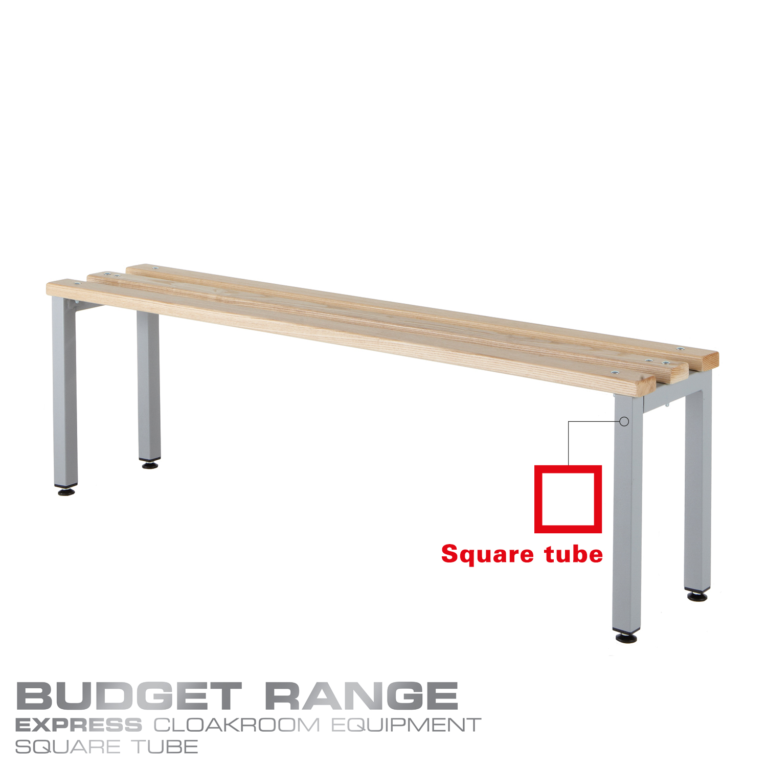 Probe cloakroom wood bench in your budget range