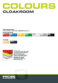 Click to download probe cloakroom colour brochure