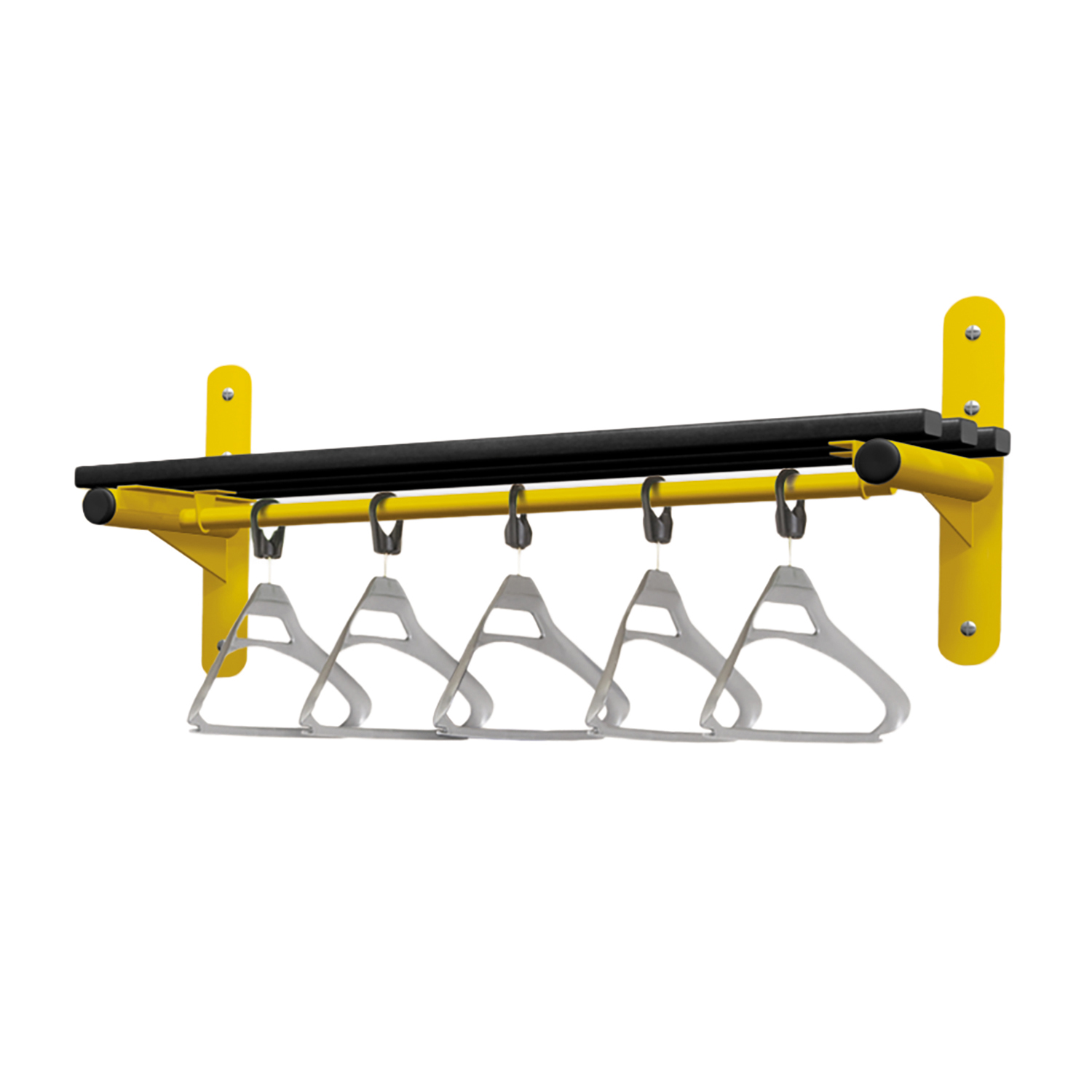 Probe cloakroom equipment with hook