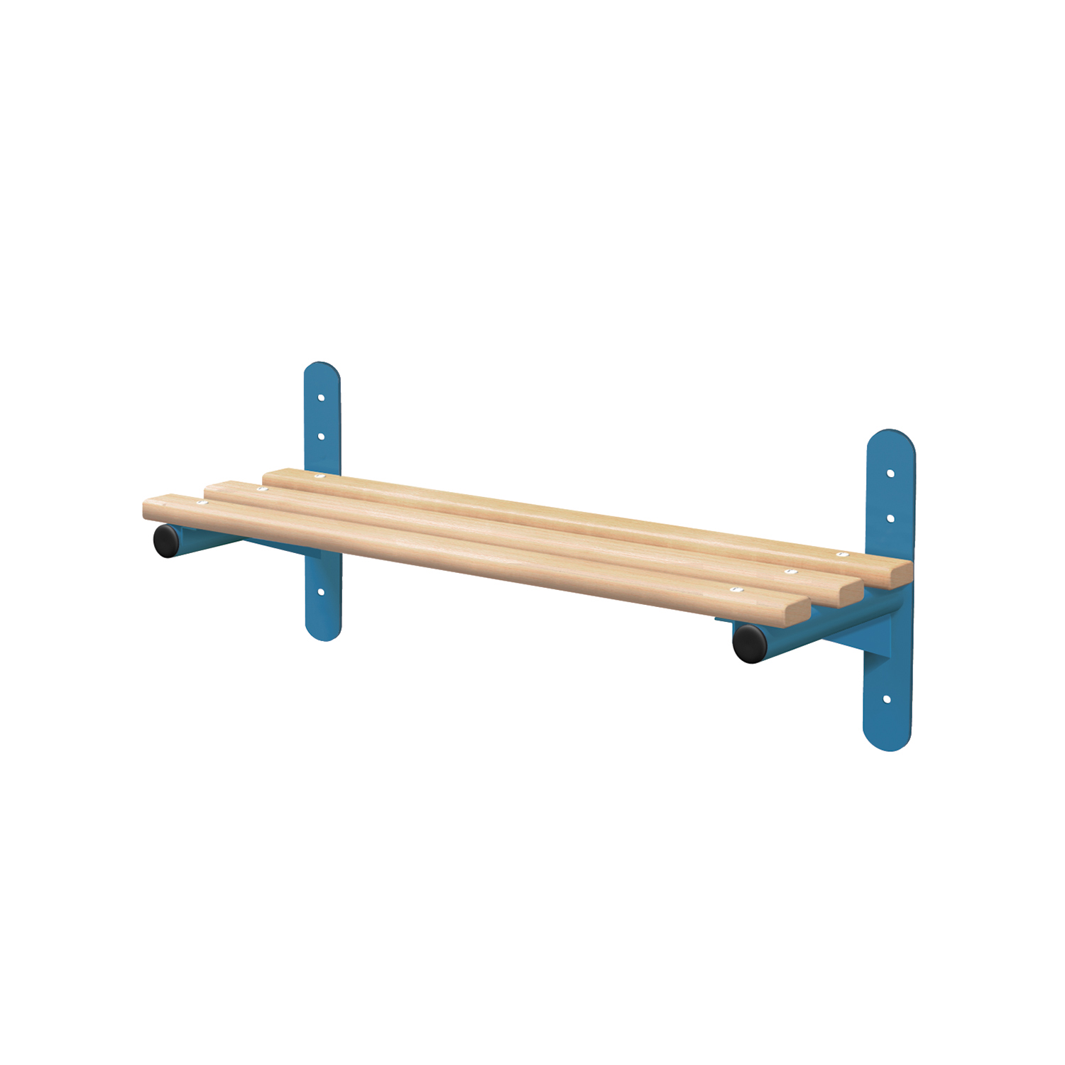 Probe cloakroom wall mounted bench