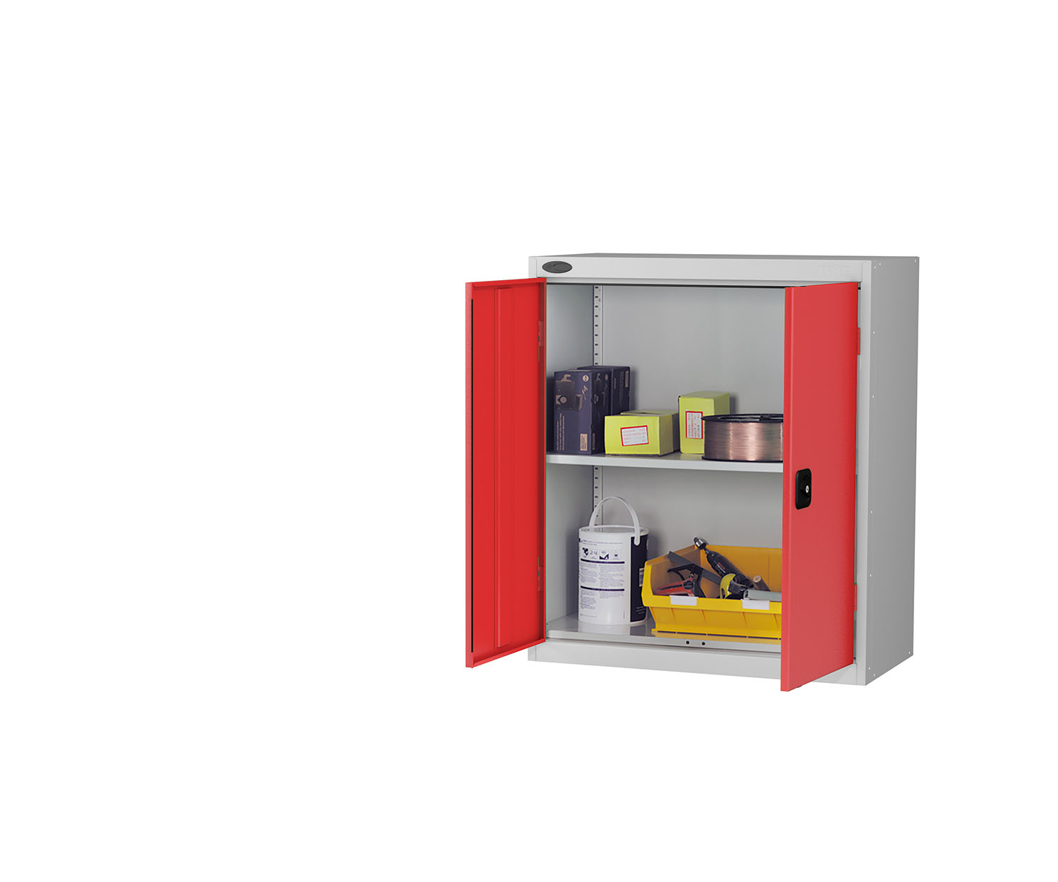 Probe low cupboard red