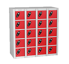 Probe small compartment lockers