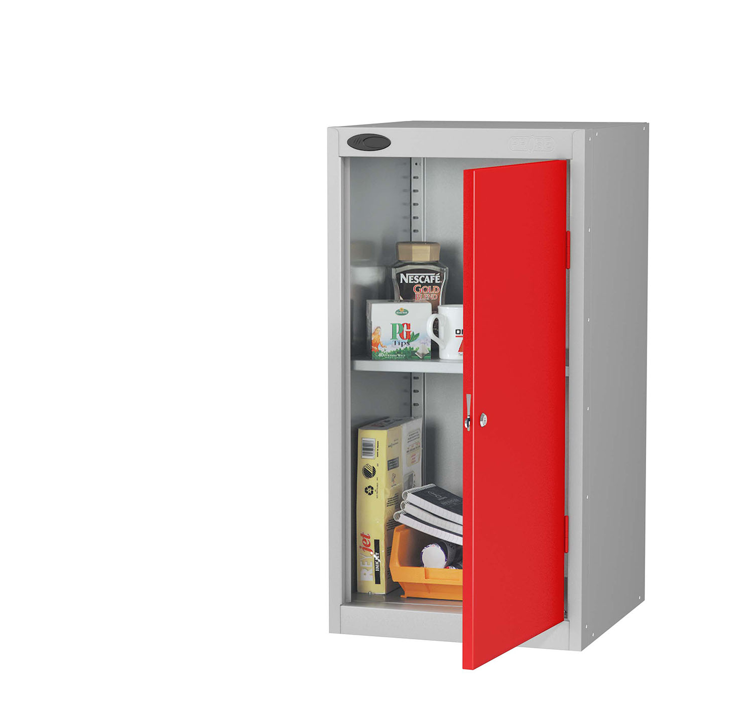 Probe small cupboard red