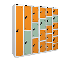 Probebox 1-6 Tier steel lockers